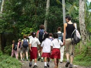 Voyager avec des enfants en Indonésie