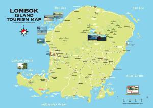 Carte Lombok